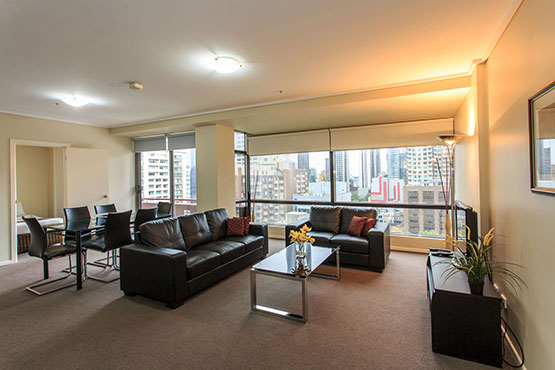 Three Bedroom Apartment Melbourne City