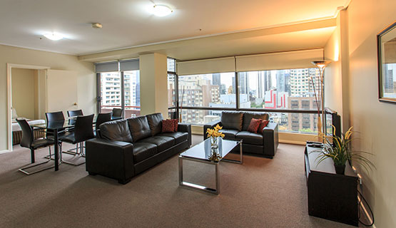 three bedroom apartments Melbourne city