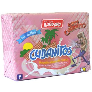 Cubanitos - Cubanitos 90g - Galletas Bandama