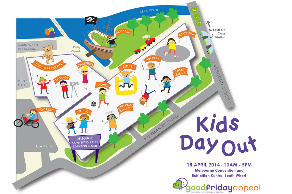Kids Day Out map