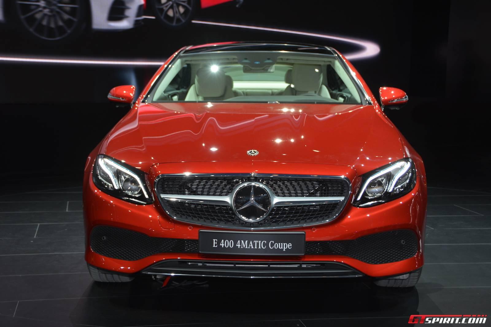 Мерседес купе е класс 2017 года новая модель