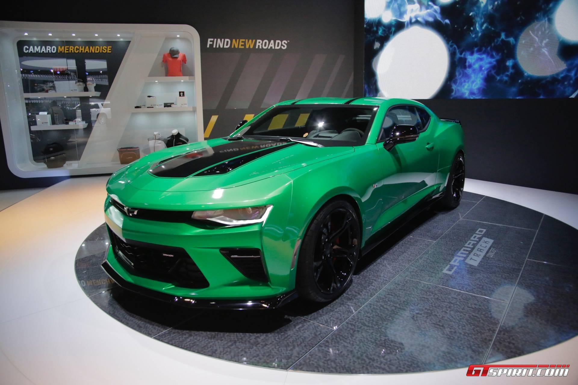 Geneva 2017: Chevrolet Camaro Track