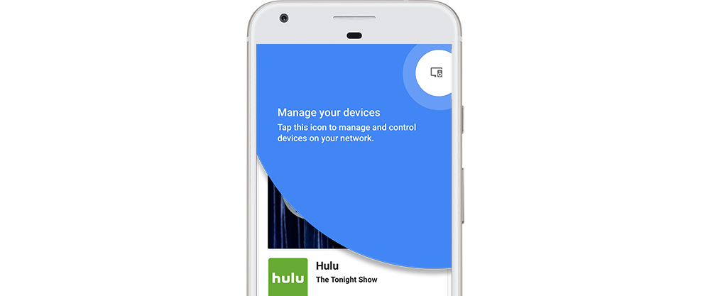 Google Home app Device Management