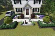 front planting design