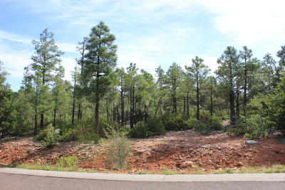 Show Low AZ Residential Lots & Land For Sale: $112,000