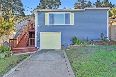 Pacifica CA Single Family Home Pending: $799,000