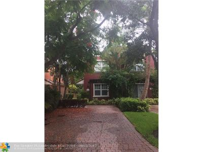 Fort Lauderdale FL Condo/Townhouse Sold: $215,900