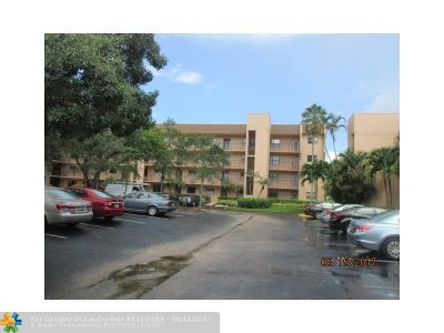Sunrise FL Condo/Townhouse Sold: $79,000