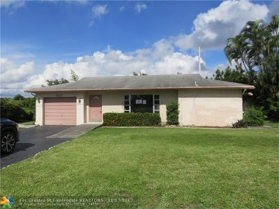 Tamarac FL Single Family Home Sold: $202,123