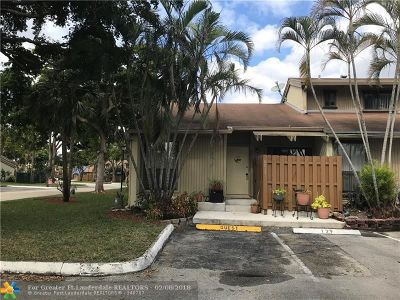 Davie FL Condo/Townhouse Sold: $183,000