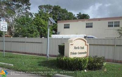 North Lauderdale FL Condo/Townhouse Sold: $77,000