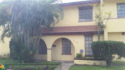 Lauderdale Lakes FL Condo/Townhouse Sold: $125,000