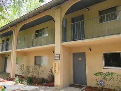 Sunrise FL Condo/Townhouse Sold: $56,000