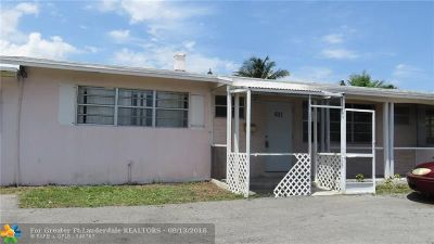 Pompano Beach FL Single Family Home Sold: $181,999