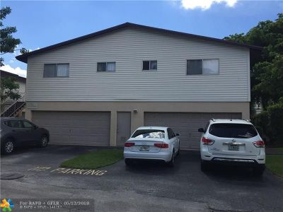 Sunrise FL Condo/Townhouse Sold: $120,000