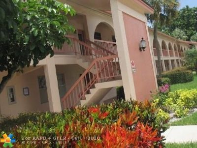 Coconut Creek FL Condo/Townhouse Sold: $54,700