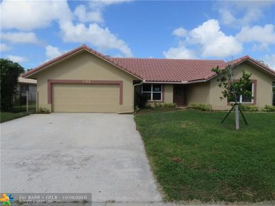 Coral Springs FL Single Family Home For Sale: $364,000