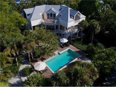 Sanibel FL Single Family Home For Sale: $1,649,000