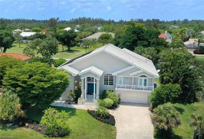 Sanibel FL Single Family Home For Sale: $1,022,000