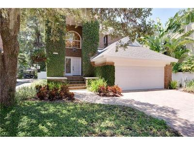 Tampa FL Single Family Home For Sale: $599,500