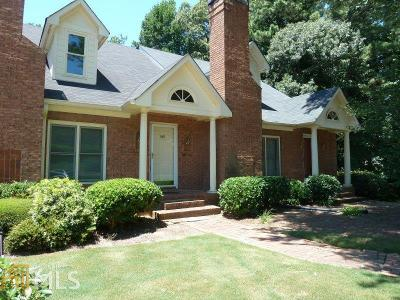 Alpharetta GA Condo/Townhouse Sold: $154,777