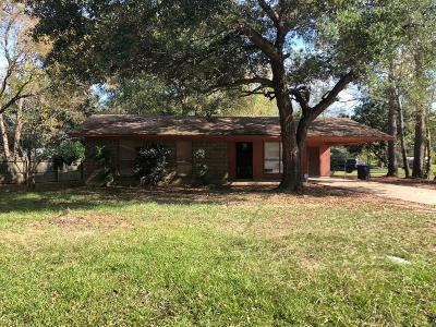 Single Family Home For Sale: 1609 West Court Drive