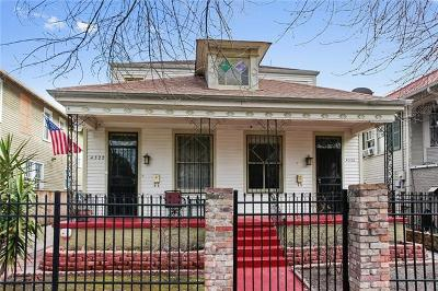 Multi Family Home For Sale: 4320-22 S Carrollton Avenue