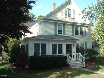 Lee MA Single Family Home Pending: $385,000