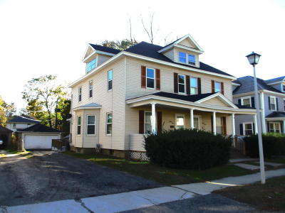 Pittsfield MA Multi Family Home For Sale: $139,900