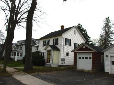 Dalton MA Single Family Home For Sale: $145,000