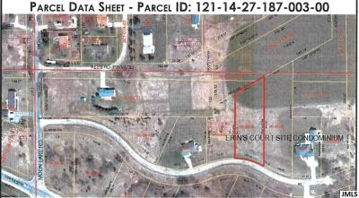 Jackson MI Residential Lots & Land For Sale: $10,000