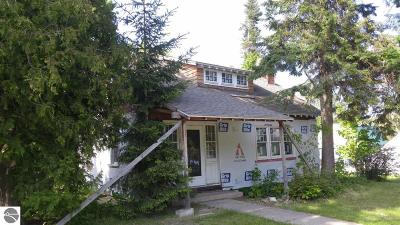 Central Lake MI Single Family Home For Sale: $89,900