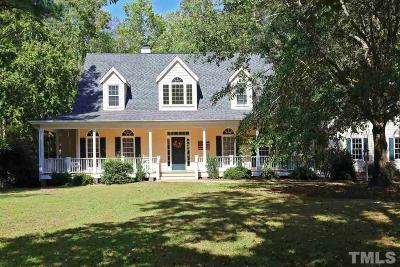 Single Family Home For Sale: 7124 Apex Barbecue Road