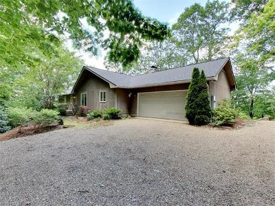 Pisgah Forest NC Single Family Home For Sale: $449,500