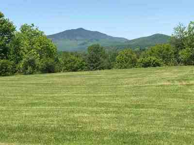 Morristown VT Residential Lots & Land For Sale: $57,500