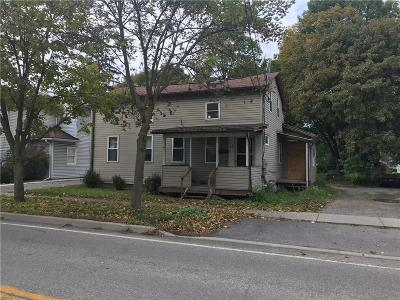 Dansville NY Single Family Home For Sale: $29,900