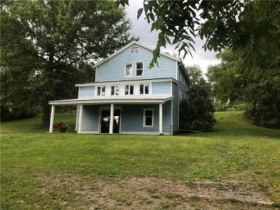 Dansville NY Single Family Home Active Under Contract: $77,000