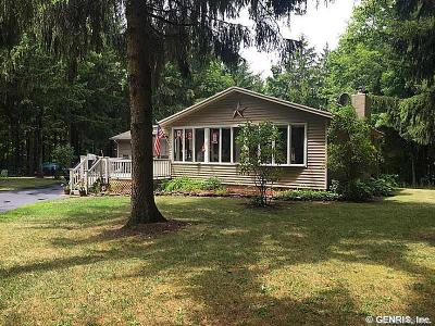 Single Family Home Sold: 7241 Canadice Road