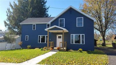 Lowville NY Single Family Home Sold: $189,900