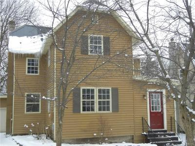 Lowville NY Single Family Home Sold: $114,900