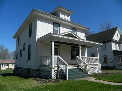 Lowville NY Single Family Home A-Active: $129,900