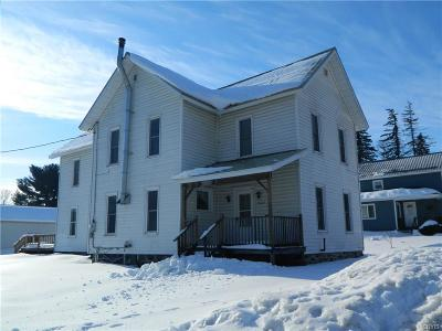 Denmark NY Single Family Home Sold: $56,000