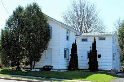 New Bremen NY Single Family Home Sold: $79,000