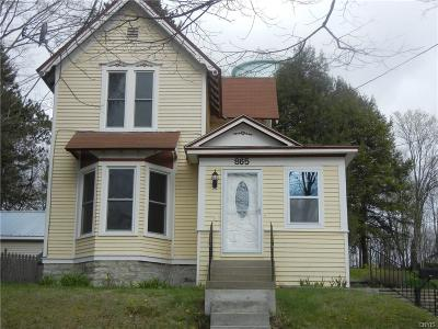 Wilna NY Single Family Home A-Active: $167,500