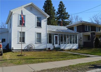 Lowville NY Single Family Home A-Active: $124,900