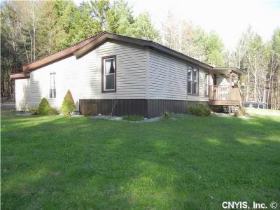 New Bremen NY Single Family Home Sold: $99,900