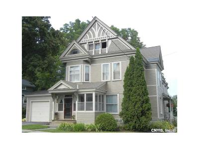Lowville NY Single Family Home S-Closed/Rented: $190,000