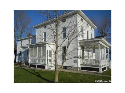 Lowville NY Single Family Home Sold: $119,000