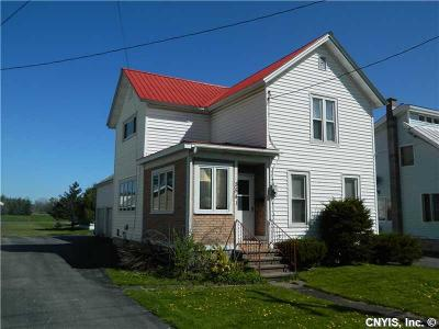 Lowville NY Single Family Home Sold: $79,900