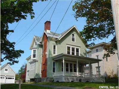 Lowville NY Single Family Home Sold: $184,000